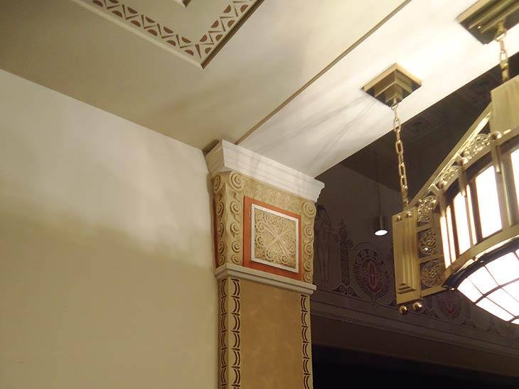 Lasurgestaltung - Theater | Hotel Dolce, Bad Nauheim